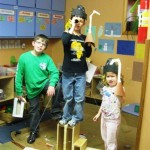 Ships Ahoy! Watch out for the pirates aboard Parker, Anna and Sam.