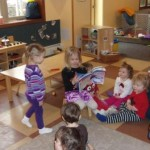 Enzo's sister Luna reading to us!